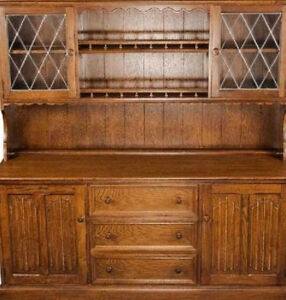ANTIQUE FURNITURE/ hutches, dressers, any cabinets/ refinishing
