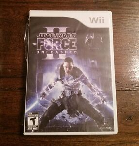 Wii Star Wars the Force Unleashed II with Lightsaber