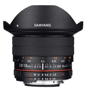Samyang 12mm F2.8 Ultra Wide Fisheye Lens for Canon EOS EF DSLR
