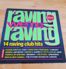 Raving We're Raving Original Vinyl L.P