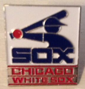MLB CHICAGO WHITE SOX 1987 LAPEL PIN