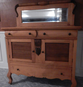 Antique Solid Maple Buffet