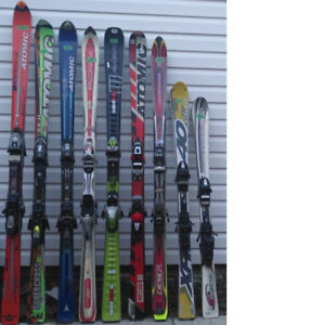 Used skis, snowboards, snow blades and boots for sale