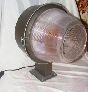 Upcycled Table Lamp Made From A Vintage Street Light