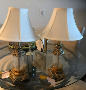 Desk lamp with shades