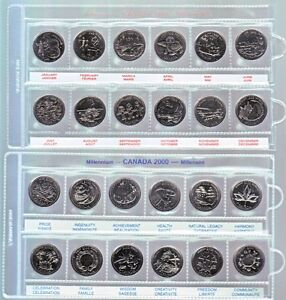 2 X 2 Coin holders $5.00 per 100, Pages $0.50 each Windsor Region Ontario image 5
