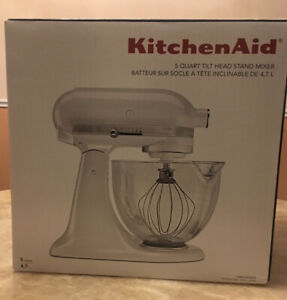 Kitchenaid stand mixer Artisan Design 5 quart glass bowl, 325 W