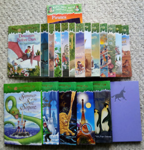 New condition MAGIC TREE HOUSE BOOKS.  take all for $55