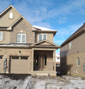 End Unit Townhouse In Ancaster