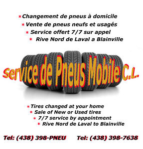 CHANGE SERVICE TIRE SERVICE AT HOME West Island Greater Montréal image 3
