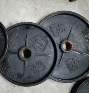 Hampton Commercial Olympic Weights 45lbs OR 35lbs