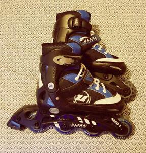 Expandable Ultra Wheels Inline Skates - Boys Size 1 to 4