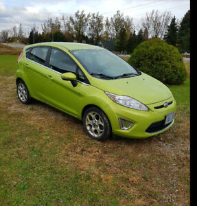 Ford Fiesta great on gas