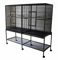 Top Quality Spacious Double Flight Cage for Sale