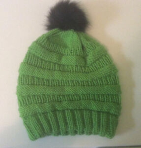 Adult/Teen Homeknit Slouch Hat
