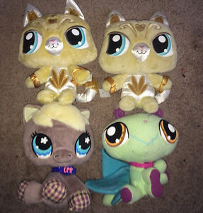 Littlest Pet Shop Plush Lot of 4 ($10 for the Lot) or $5 Each