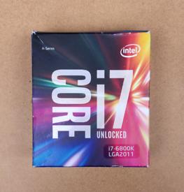 Intel i7-6800K,Broadwell-E,6 Cores,12 Threads, 3.4GHz(3.6GHz Turbo), L