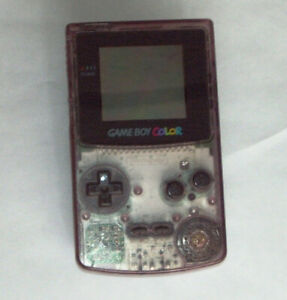 ATOMIC PURPLE GAME BOY COLOR SYSTEM IN VERY GOOD CONDITION.