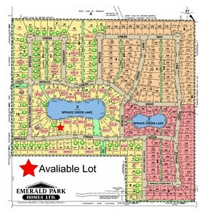 Large acreage lots for sale in Spruce Creek Estates -Pilot Butte