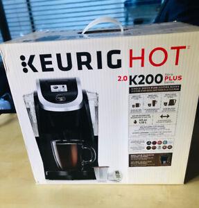 New Keurig K200 Coffee Maker. Still in the Box.
