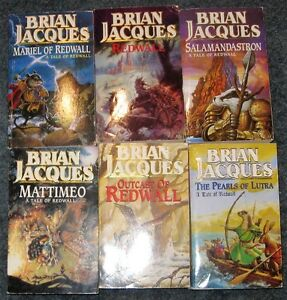 Lot of brian jacques books $5