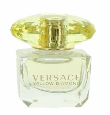 Yellow Diamond for Women Versace Eau de Toilette Mini Splash 0.17 oz  New no Box