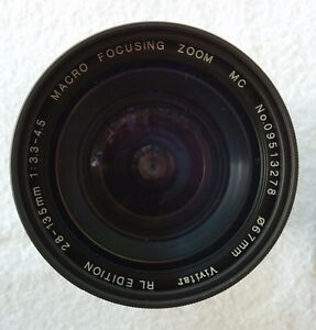 Vivitar 28-135mm F3.3-4.5 with 67mm Clear Filter London Ontario image 8