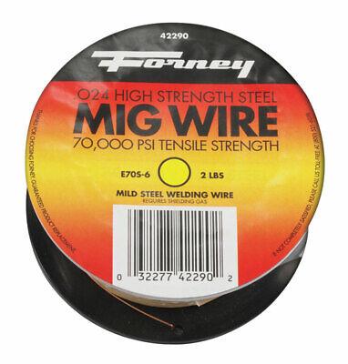 Forney 0.024 In. Mild Steel Mig Welding Wire 70000 Psi 2 Lb.