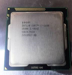 Intel Core i7-2600 3.4 GHz Quad Core Processor SR00B