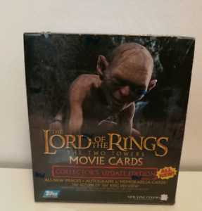 Cartes The Lord Of The Rings Two Towers Trading Cards
