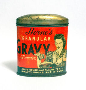 1940'S Horne's Lithographed Tin