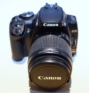 CANON EOS REBEL XTi CAMERA/LENS