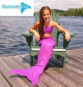 FANTASY FIN #1 SWIMMABLE MERMAID TAIL & FIN, BOXING DAY SPECIAL