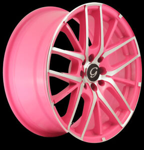 Roues / Jantes / Mags Rose & Chrome 17''