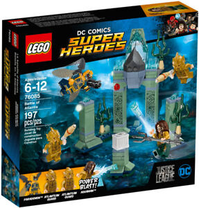 SAVE $4 Lego Brand New 76085 Aquaman Battle of Atlantis