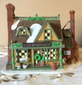 Dept 56 - New England Village- East Willett Pottery - REDUCED