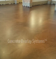 Concrete Floor Coatings by Concrete Overlay Systems