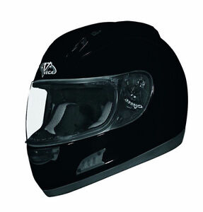Fullface Black Gloss Motorcycle Helmets at the sale