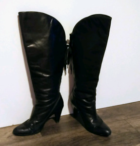 Leather boots, s7.5