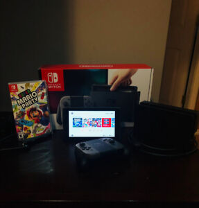 Nintendo Switch + 3 Games & Controller