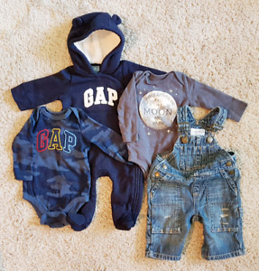 NWOT 0-3 & 3-6 month baby boy clothes