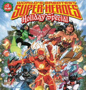 DC COMICS WALMART 100 PAGE GIANT SUPERHEROES HOLIDAY SPECIAL