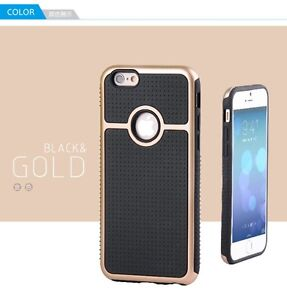 BLACK GOLD RING HYBRID HEAVY DUTY SHOCKPROOF CASE / IPHONE 6, 6+