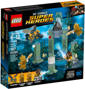 Lego Super Heroes 76085 Battle of Atlantis Neuf