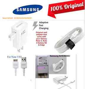 100% Original Wall Charger or Charging Cable Note7 Note5 Note4 3
