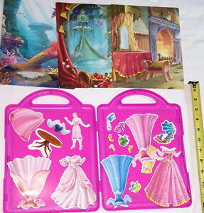 Qty 2 x Disney Princess Fashions - Magnetic Book and Play Sets London Ontario image 6