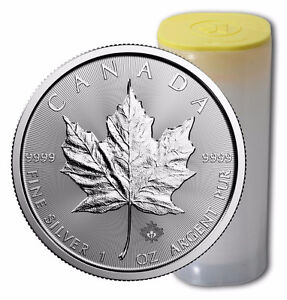 2017 Silver Maple Leaf Coins - Authorized RCM Bullion DNA Dealer Cornwall Ontario image 4