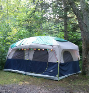 14 ft x 10 ft Straight wall cabin tent