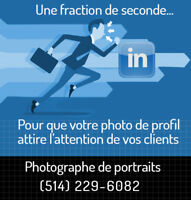 Photographe pour photos Linkedin