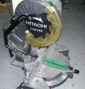 "Hitachi 10"" Chop-saw"